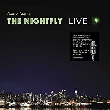 """Donald Fagen """"The Nightfly Live"""""""