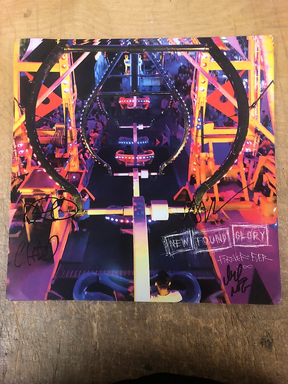 AUTOGRAPHED: New Found Glory Poster