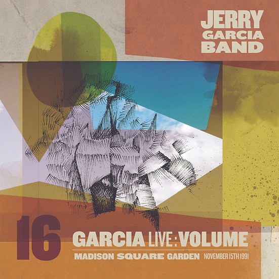"""Jerry Garcia """"Vol. 16 Live At Madison Square Garden 11/15/91"""""""