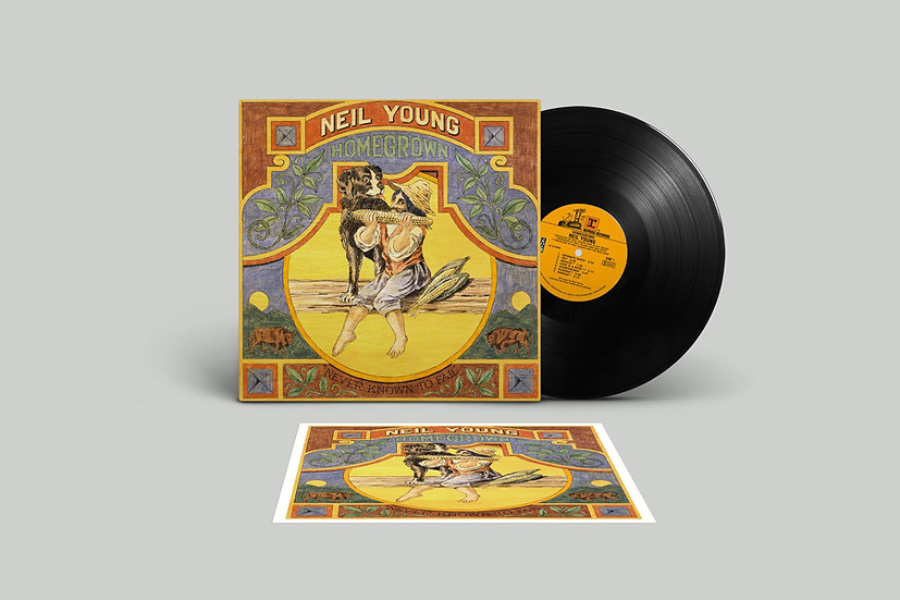 "Neil Young ""Homegrown"" CD or LP"