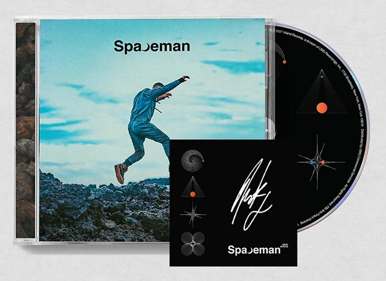 "Nick Jonas ""Spaceman"" AUTOGRAPHED CD"