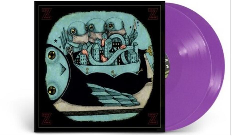 "My Morning Jacket ""Z"" Purple 2LP Vinyl Set"