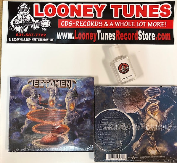 "Testament ""Titans of Creation"" CD or LP"