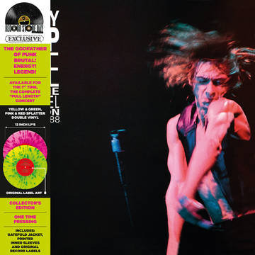 """Iggy Pop """"Live At The Channel Boston"""""""