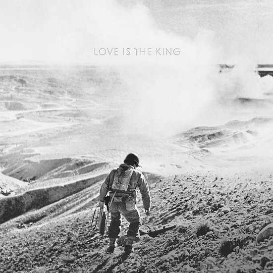 """Jeff Tweedy """"Love Is The King"""" Clear Vinyl LP"""