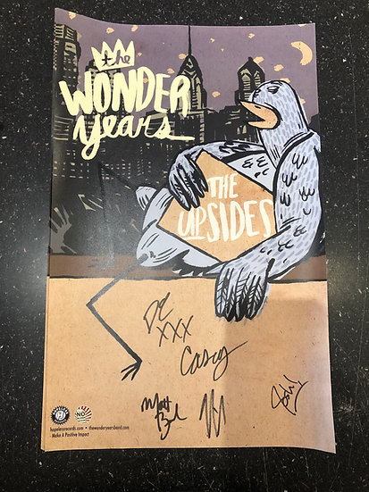 AUTOGRAPHED The Wonder Years Poster