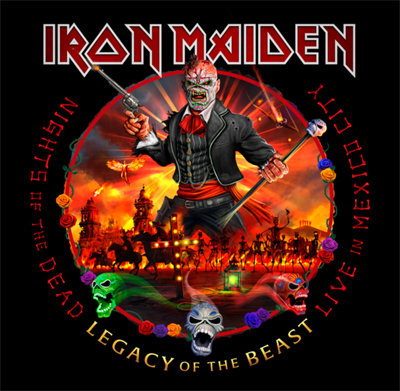 "Iron Maiden ""Night Of The Dead, Legacy Of The Beast: Live In Mexico City"""""