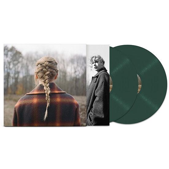 "** PRE-ORDER Taylor Swift ""Evermore"" 2LP Green Vinyl"