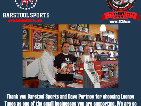 Forever Gracious to the Barstool Fund & Dave Portnoy!