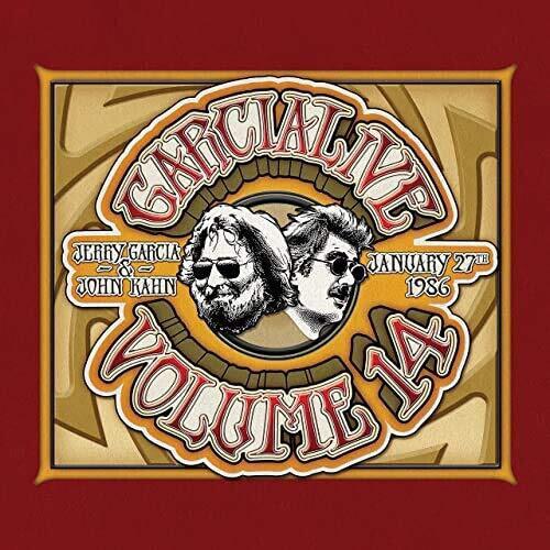 "Jerry Garcia & John Kahn ""Garcialive Volume 14"""