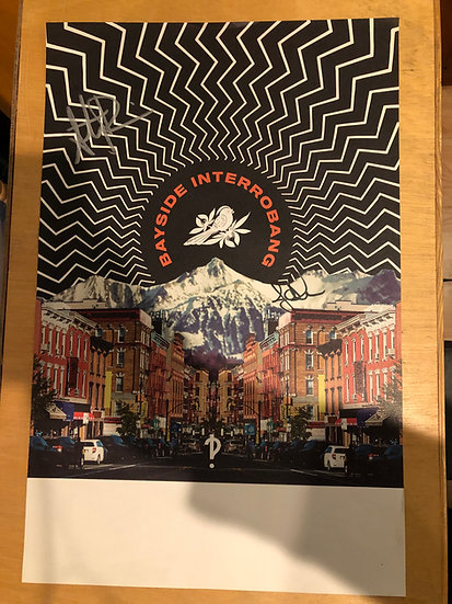 """AUTOGRAPHED: Bayside """"Heaven"""" Poster"""