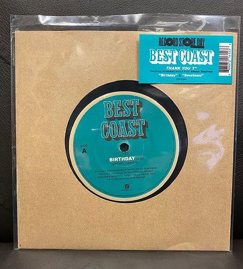 "Best Coast - Thank You 7"""