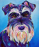 Dog, Pet portraits in Australia, Custom pet portraits, Evei Art, Eve Izzett