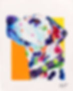 Dalmatian, Dalmatian with painted spots, Dog painting, Evei Art, Eve Izzett