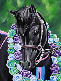 Pony art, Custom pet portraits, Evei Art, Eve Izzett