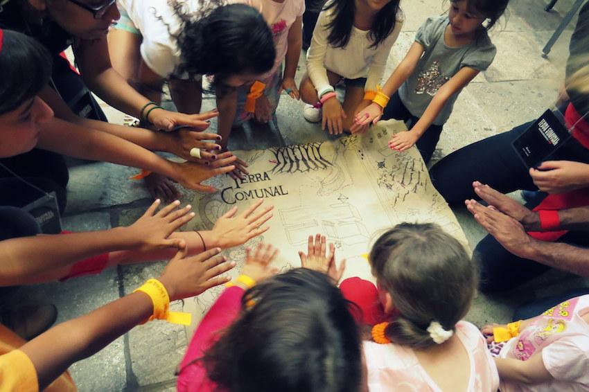 Terra Comunal - Oficina para criança