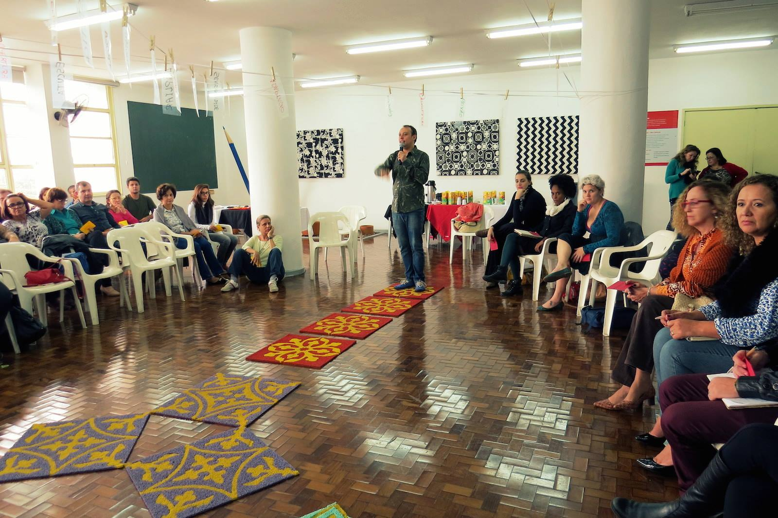 Formação agentes culturais do SESI