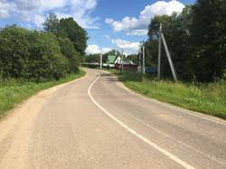 Подъезд до Зинаевки
