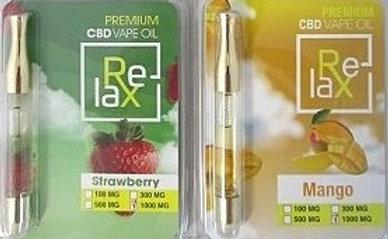Relax Premium CBD Vap Liquid 1000mg 1ml | HeadShop2Go com
