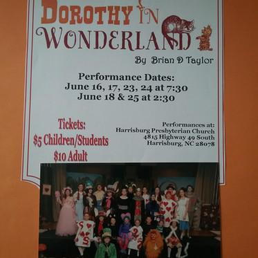 Dorothy in Wonderland 2017