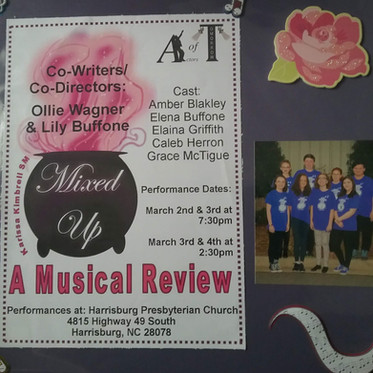 Mixed Up, Musical Revue