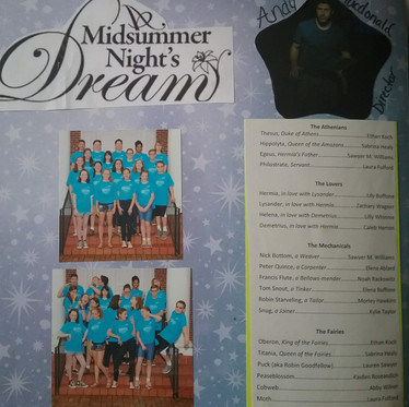 Welcome to the 60's: A Midsummer Night's Dream