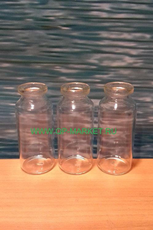флакон прозрачный пенициллиновый