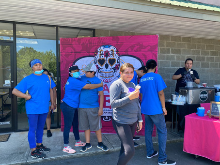 Helados La Neta Social Ice cream with Hispanic Alliance GA - La Alianza