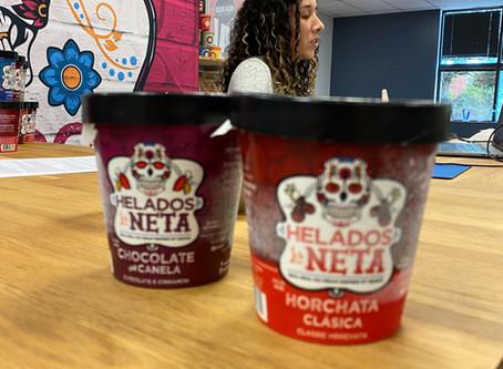 Helados Tasting, but make it Virtual… ・ Degustación de helados, pero virtual...