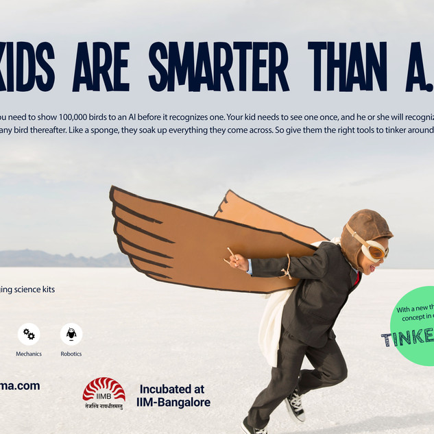 Kids Are Smarter Than A.I.