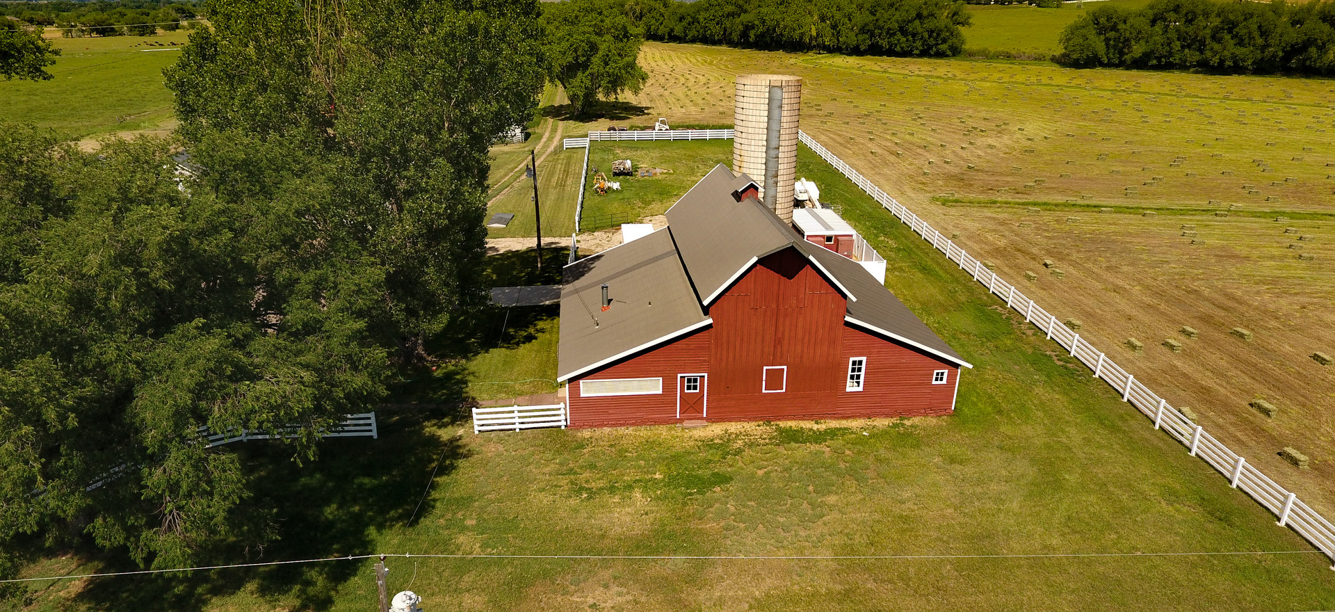 A Red Barn North of 66