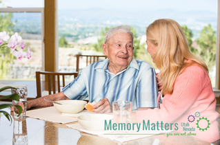 Alzheimer's Quick Tips: Making Mealtimes Easier