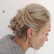 Bridal hair 👰🏼 #bridalshower #bridalha
