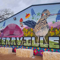 Kerrville, A Place to Call Home Mural