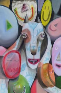 Goat_art_artist_Χρίστος_Ακορδαλίτης_new_