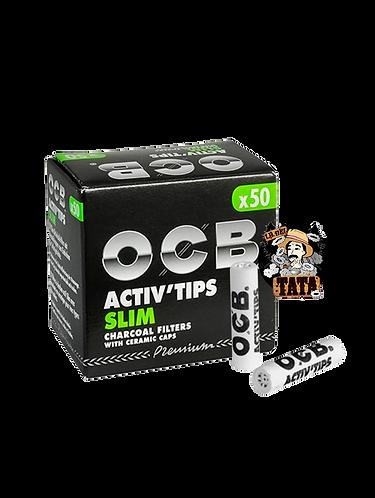 OCB ACTIVE X50 FILTERS CERAMICO FILTRO CARBON
