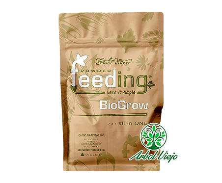 FEEDING BIO GROW 1KG GREEN HOUSE