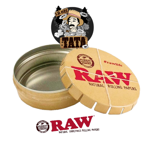 RAW LATA POP UP TIN REDONDA