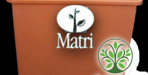 MACETA CUBO 20x20 MATRI