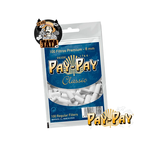 FILTROS TABACO PAYPAY 8MM