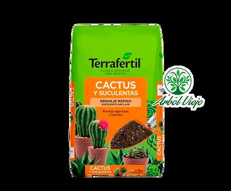 SUSTRATO CACTUS/SUCULENTAS 5L TERRAFERTIL