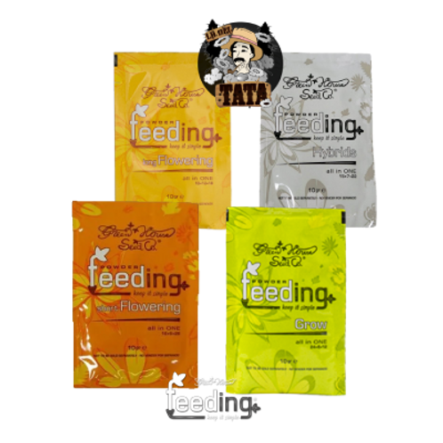 FEEDING SOBRE 10G GREEN HOUSE POWDER