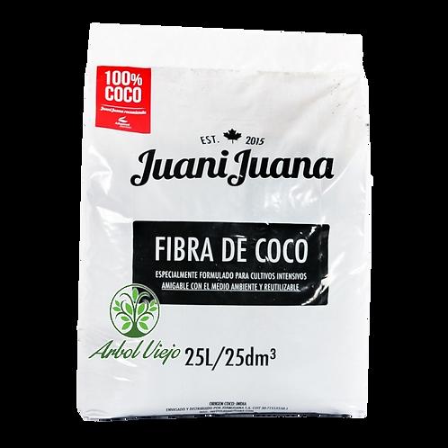 JUANIJUANA SUSTRATO 25L FIBRA DE COCO