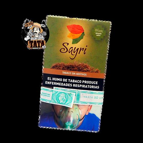 TABACO SAYRI 50G VARIOS SABORES