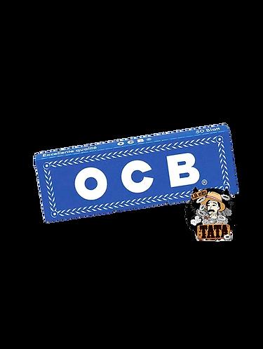 OCB AZULES PAPEL PARA ARMAR TABACO