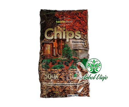 CHIPS 50L NATURAL CORTEZA TERRAFERTIL
