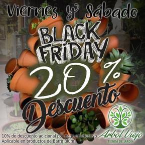 BLACK FRYDAY EN ARBOL VIEJO!