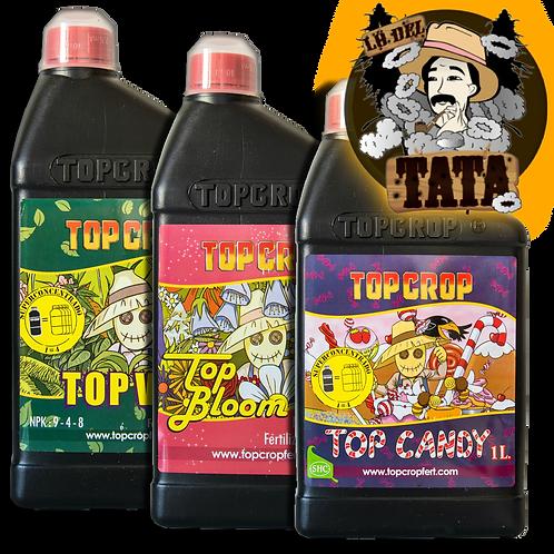 TRIPACK 1LITRO VEG BLOOM CANDY TOP CROP