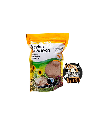 HARINA DE HUESO 1KG LA JARDINERA