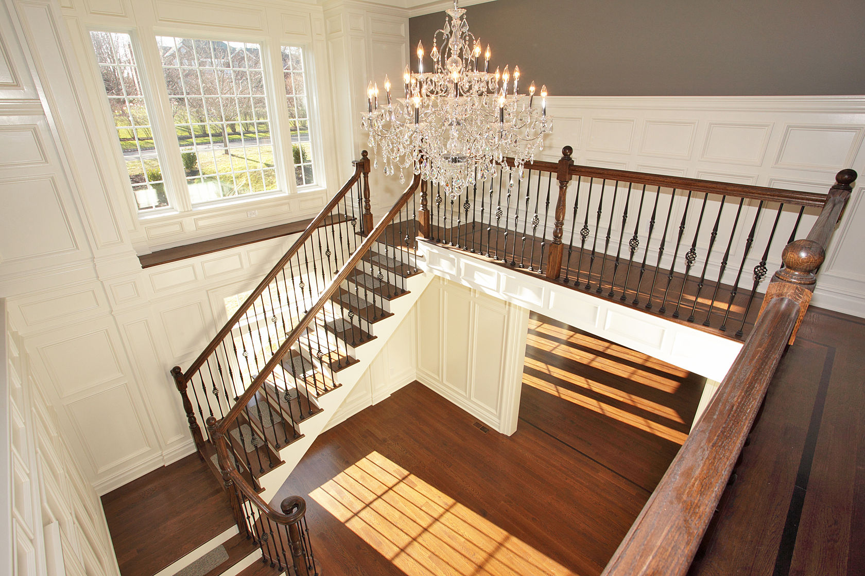 Stair Hall Design, Rumson NJ